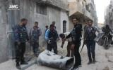 بعبوات لا تتجاوز قيمتها 500$ يقوم النظام بتدمير المدن السوري بشكل منتظم وممنهج