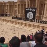 أطفال من داعش ينفذون إعداماً جماعياً على مدرّج تدمر