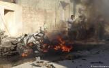 انفجار سيارة مفخخة في تل رفعت
