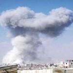قصف على حرستا يستهدف المؤسسات المدنية فيها