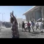 استهداف قرية كفروما في ريف إدلب في أول أيام عيد الأضحى