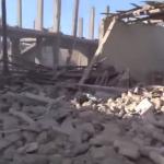 مجزرة في استهداف لمخبز في مدينة القريتين في ريف حمص