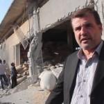 استهداف مخزن للقمح وبئر لمياه الشرب في معرة النعمان 28-11-2015