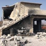 """الطائرات الروسية تقصف مخبز""""جمعية ايلاف"""" الخيرية في ريف حماة"""