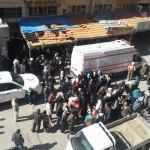 دخول مساعدات إنسانية إلى بلدة مضايا المحاصرة