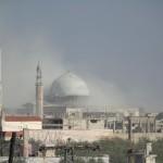 البرميل المتفجرة تستهدف مسجداً في كفرزيتا