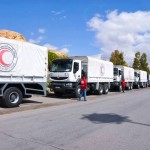 وصول مساعدات إنسانية إلى مضايا والزبداني وكفريا والفوعة