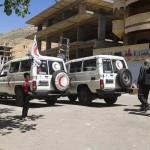 بدء إجلاء الجرحى من ريف إدلب وريف دمشق