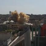 الطيران الحربي والمروحي يستهدف ريف حمص الشمالي