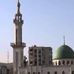 تمركز قوات النظام في مئذنة مسجد الغفران في حي القابون في دمشق