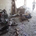 مجزرة في استهداف لفرن في حريتان