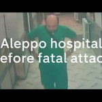 اللحظات الأخيرة في مستشفى القدس قبل استهدافه 27-4-2016