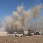 مجزرة بحق عائلة في الرستن بغارة جوية