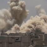 البراميل المتفجرة تتساقط على داريا 13-6-2016