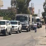 الأمم المتحدة تدخل مساعدات غير غذائية إلى داريا