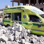 استهداف مشفيين في مدينة حلب