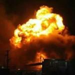 انفجارات تهزّ معمل تصنيع البراميل المتفجرة