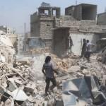 مجزرة في استهداف بالبراميل لباب النيرب في حلب