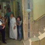 لحظة استهداف مشفى عمر بن عبد العزيز في حلب