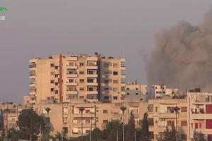 مجزرة في استهداف لحي الوعر في حمص