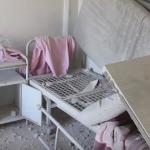 الطيران الحربي يستهدف خمس مؤسسات طبية في حلب