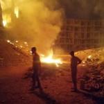 داريا تتعرّض لقصف بقنابل النابالم الحارقة