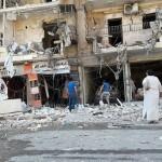 مجزرة في استهداف لحي صلاح الدين في حلب