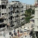 الوعر: الحصار والقصف يُهدد بجريمة ضد الإنسانية