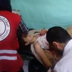 انفجار في مدرسة في درعا