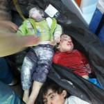 مجزرة في قصف على ريف حلب الغربي