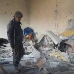قوات النظام تستهدف تجمعاً للنازحين في وادي بردى