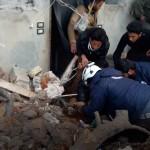 غارات تستهدف مشفى في ريف درعا