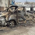 الطيران الروسي يستهدف نازحين في ريف حلب الشرقي