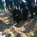 فصيل موال لداعش يخلف مقبرة جماعية في إدلب