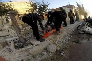 الطيران يستهدف ريف إدلب ومجزرة في معرة مصرين
