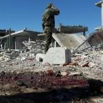 قصف يستهدف مشفى ومدنيين في ريف درعا