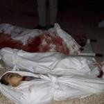مجزرة في قصف على حي سكني في حمورية