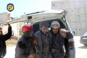 إصابات في صفوف الدفاع المدني