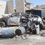 مجزرة في سوق خان شيخون
