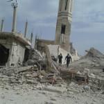 استهداف مسجد أبو عبيدة في كفرزيتا