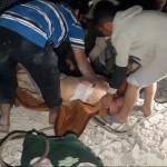 مقتل أربعة في قصف بالبراميل على نصيب