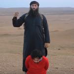 مقاتلو داعش الأردنيون يعدمون أسرى سوريين