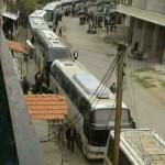 خروج مهجّري مضايا والزبداني والدفعة الأولى من كفريا والفوعة