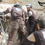 استهداف مشفى عابدين في ريف إدلب