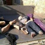 قصف بالغازات السامة على خان شيخون