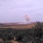 البراميل المتفجرة تستهدف النازحين في درعا