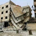 غارة تستهدف مشفى عربين