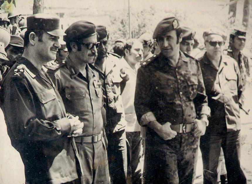 الجناة الرئيسيون في المجزرة: حافظ الأسد ومصطفى طلاس ورفعت الأسد