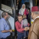 المغرب يستقبل 28 لاجئاً سورياً