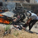 مجزرة في استهداف لطفس في درعا